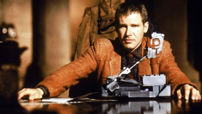 Harrison Ford en el papel de Rick Deckard en 'Blade Runner'.