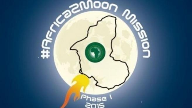 Emblema de la Fundación para el Desarrollo del Espacio, la primera misión sudafricana que quiere enviar un módulo a la Luna.