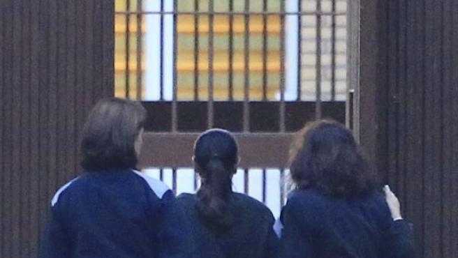 Isabel Pantoja en el momento de su ingreso en prisión, el 21 de noviembre de 2014.