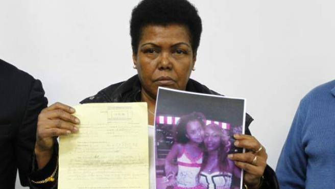 Leonarda, abuela de la niña Argelys y suegra de Adolfina, las dos dominicanas desaparecidas desde junio.