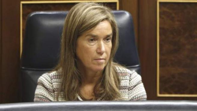 Ana Mato, en el Congreso.