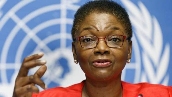 Valerie Amos, secretaria general adjunta de la ONU para Asuntos Humanitarios.