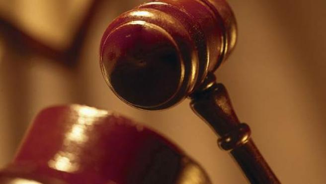 Imagen de un mazo de juez.