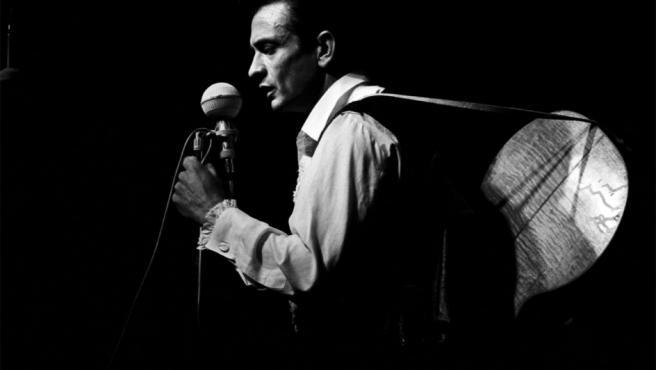 Uno de los 'hombres originales' es el cantante y compositor Johnny Cash