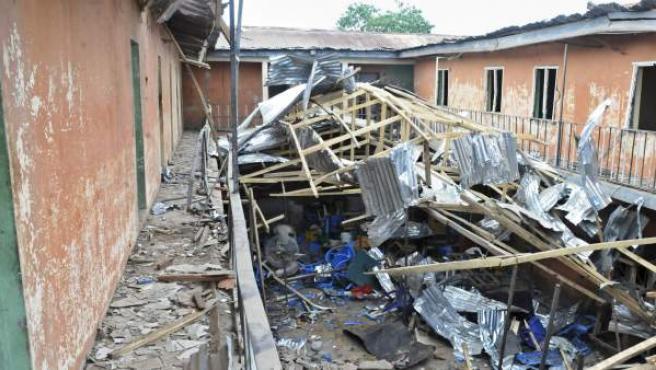 Imagen de archivo de un atentado de Boko Haram en Nigeria.