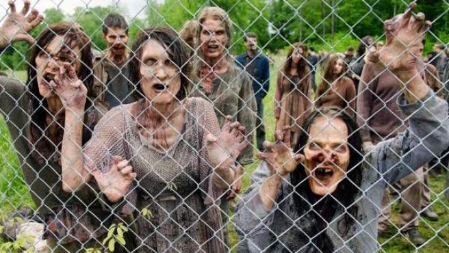 Imagen de la serie zombi 'The Walking Dead'.