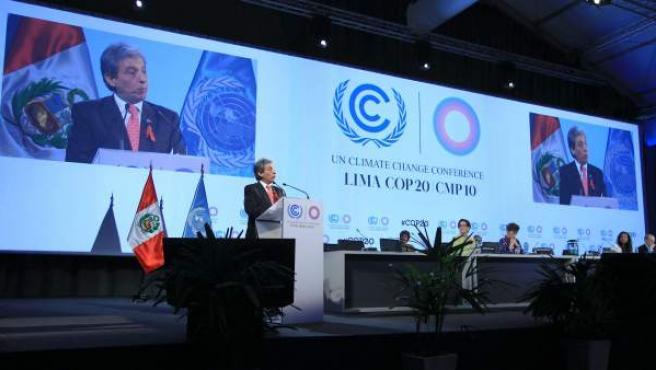 Vigésima conferencia de las partes sobre el cambio climático