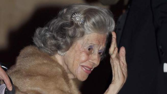 La reina consorte de Bélgica, Fabiola de Mora y Aragón, ha fallecido.