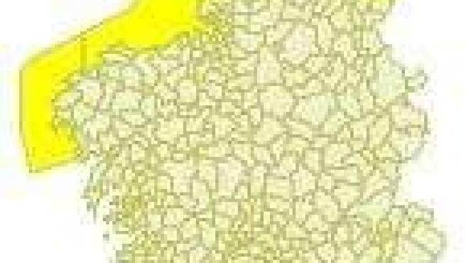 Alerta en el litoral gallego para el sábado 6 de diciembre.