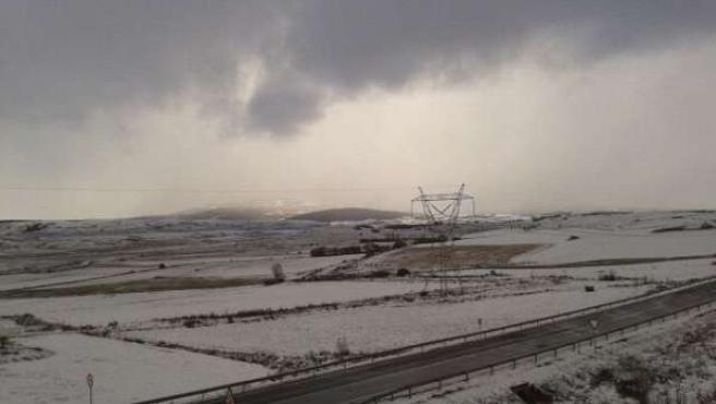 Nieve en Cantabria, nevada, temporal frío
