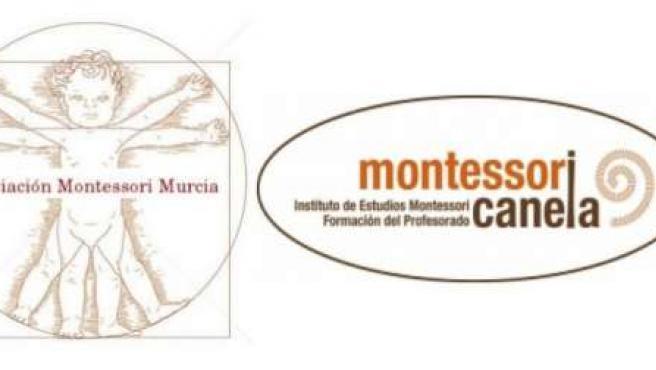Logo de Montessori Murcia y Montessori Canela