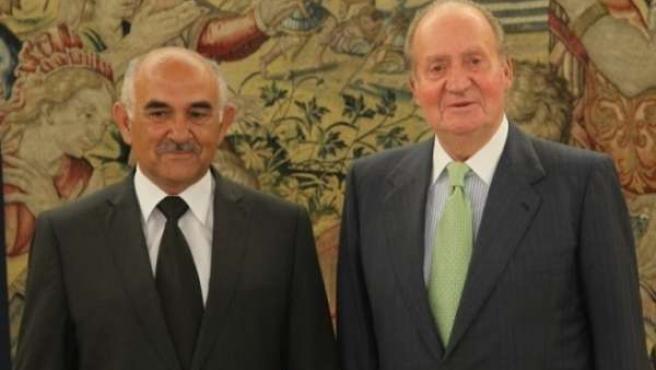 Alberto Garre y SM El Rey Don Juan Carlos