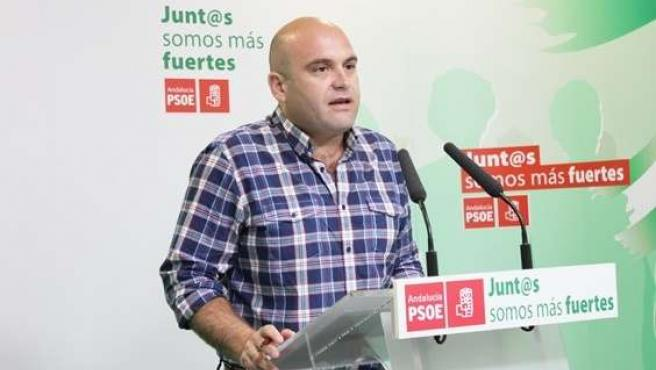 Alexis Landero, portavoz del PSOE en Cartaya.