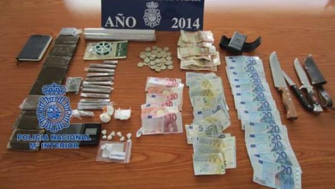 Efectos intervenidos por la Policía en Paterna