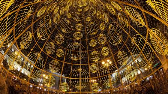 Alumbrado de Navidad en Madrid