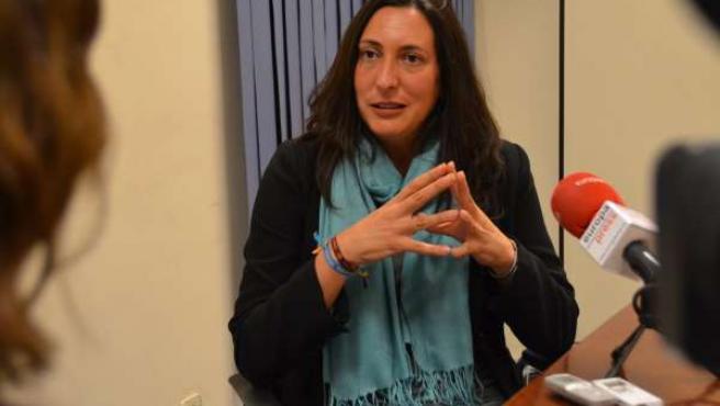 Dolores López Gabarro en una entrevista con Europa Press