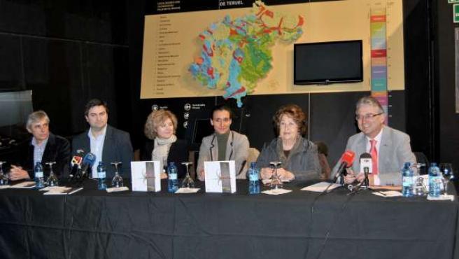 Presentación del XII Premio 'Paleonturologia'.