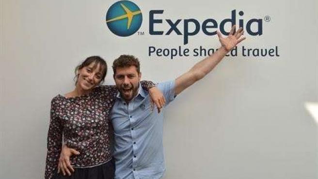 Ana y Raúl, blogueros de Expedia