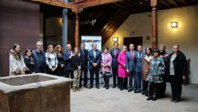 Representantes del Grupo de Ciudades Patrimonio