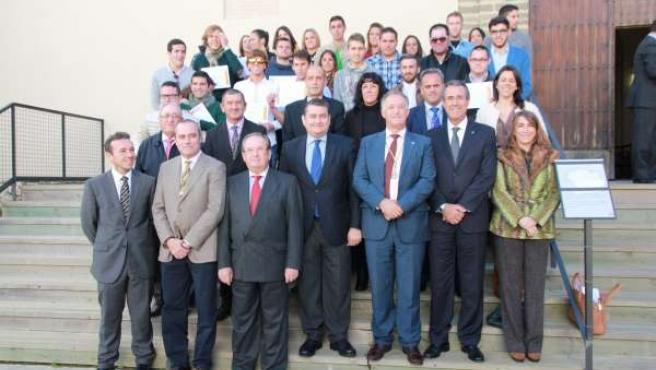 Sanz en el acto homenaje constitucional en Tarifa