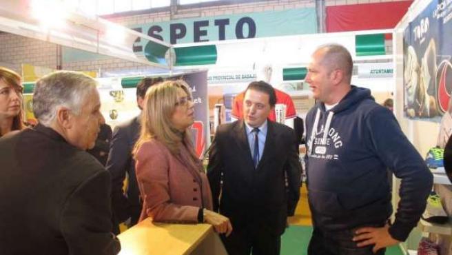Cristina Teniente en Expobarros