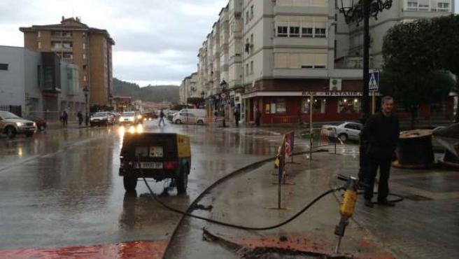 Obras en el Barrio Covadonga