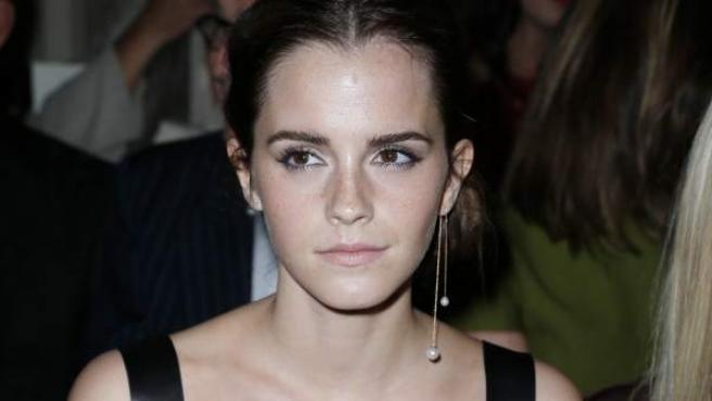 La actriz inglesa Emma Watson, en un acto promocional de este año.