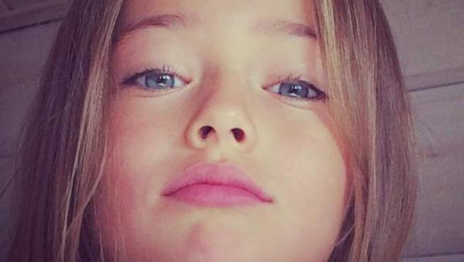 Imagen de la 'niña modelo' Kristina Pimenova, una de las muchas imágenes suyas en sus perfiles sociales.