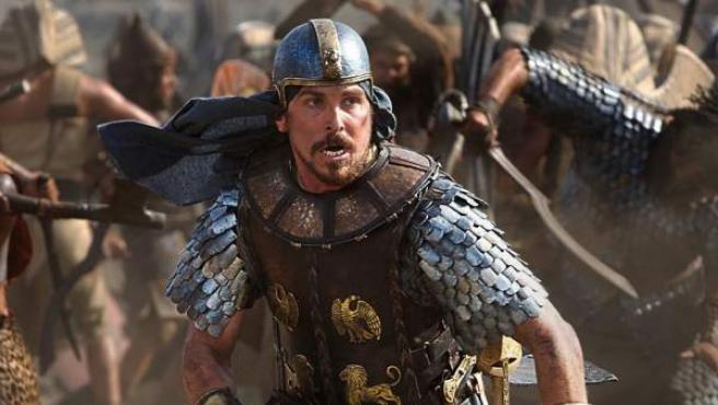 Christian Bale interpreta a Moisés en esta versión dirigida por Ridley Scott.