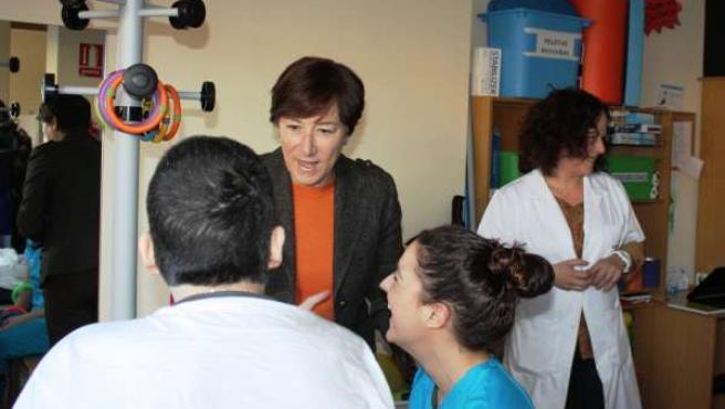 Lorenzo visita el Centro de Atención Integral Especializada al Daño Cerebral