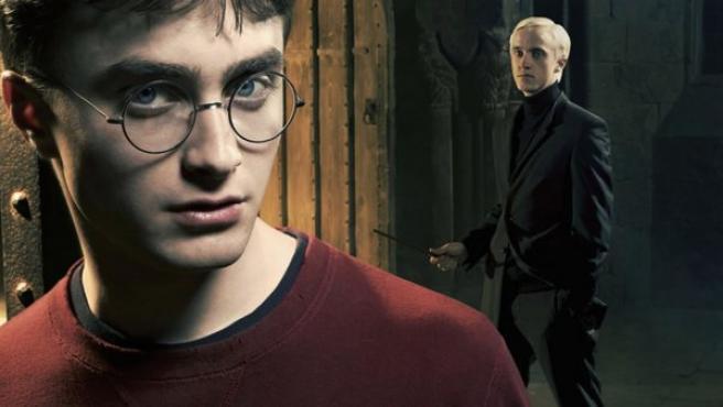 Harry Potter y su enemigo, Draco Malfoy.