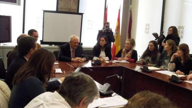 Reunión de la Comisión Territorial de Violencia de Género en León