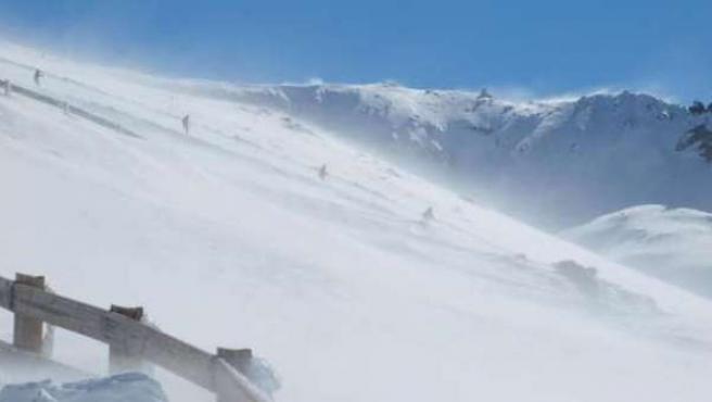 Imagen de la estación de esquí de Sierra Nevada.