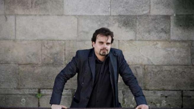 El escritor y periodista gallego Alberto Ramos