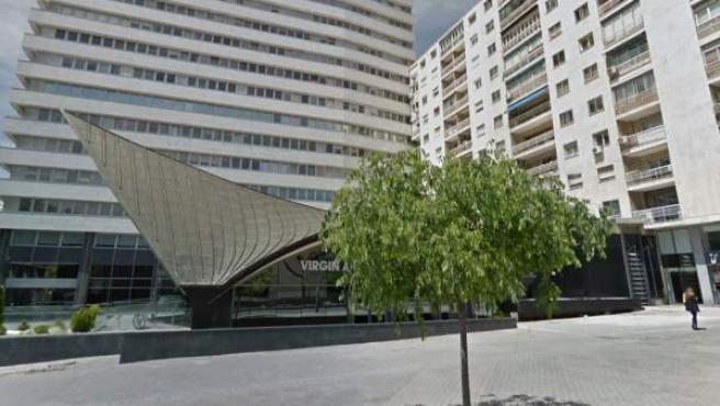 Imagen de la calle Capitán Haya de Madrid, sede de la embajada de la República Bolivariana de Venezuela en Madrid.
