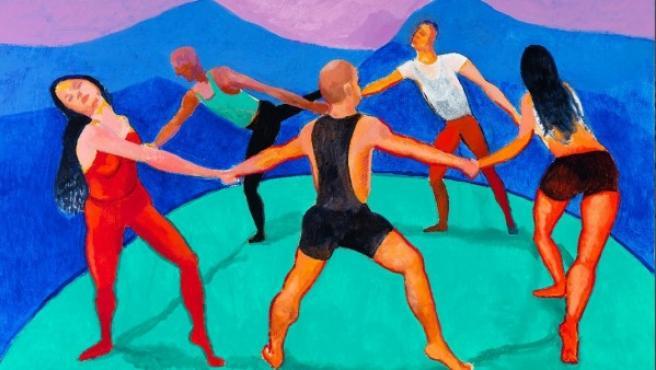 Una de las nuevas obras de David Hockney