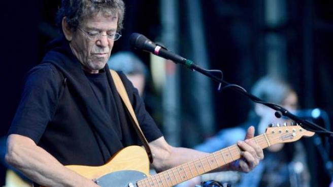 El músico Lou Reed en el escenario Zitadelle Spandau en Berlín, Alemania.