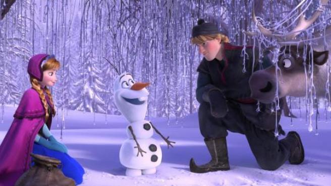 Escena de 'Frozen: El reino de hielo'.