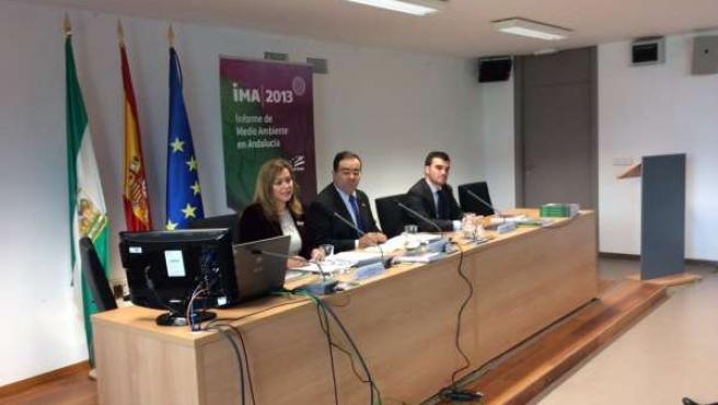 Presentación del Informe de Medio Ambiente de Andalucía