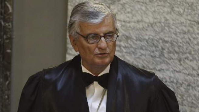 El fiscal general del Estado, Eduardo Torres-Dulce, durante su discurso en la solemne apertura del Año Judicial.