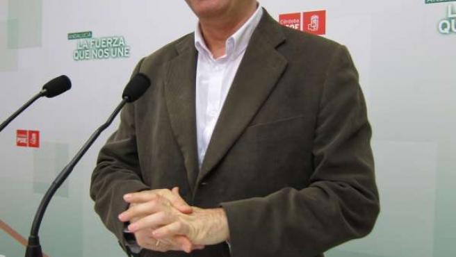 El coordinador del Consejo Territorial del PSOE-A, Juan Pablo Durán