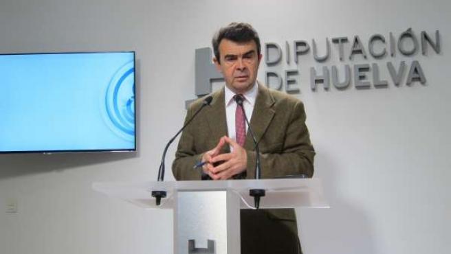 El portavoz del equipo de gobierno en la Diputación, José Martín.