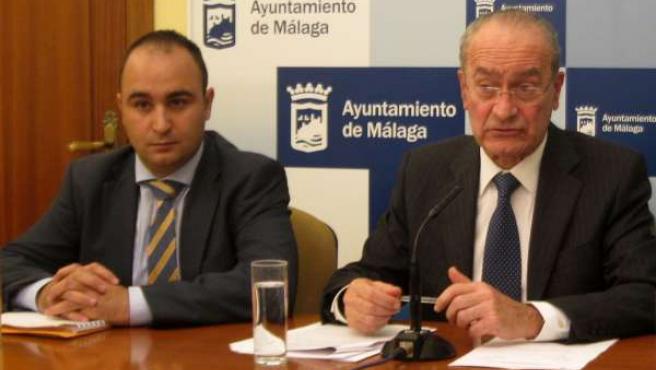 Mario Cortés y Francisco de la Torre