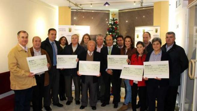 Entrega de ayudas de la campaña 'Euro Solidario' del Colegio de Abogados de Jaén
