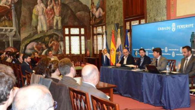 Reunión con los representantes de los ayuntamientos