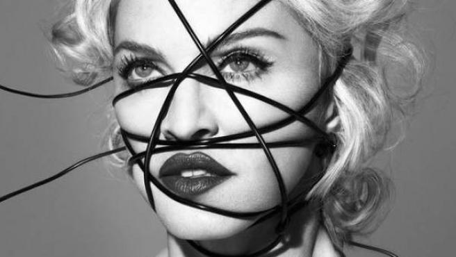 Imagen promocional de 'Rebel Heart', el nuevo disco de Madonna.