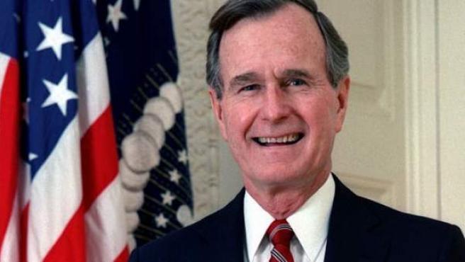 George H.W, Bush.