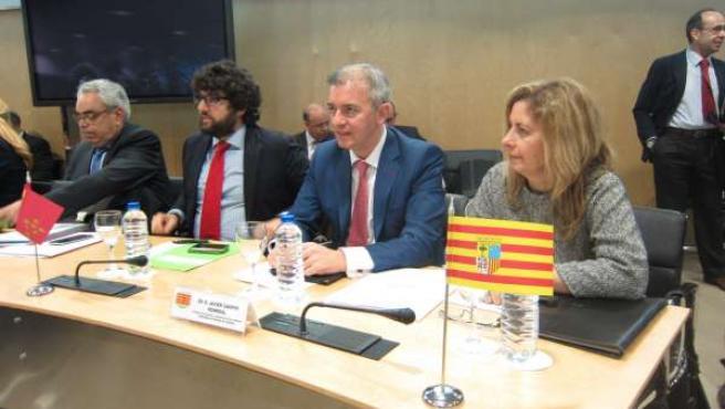 Campoy este martes en la reunión del CPFF en Madrid