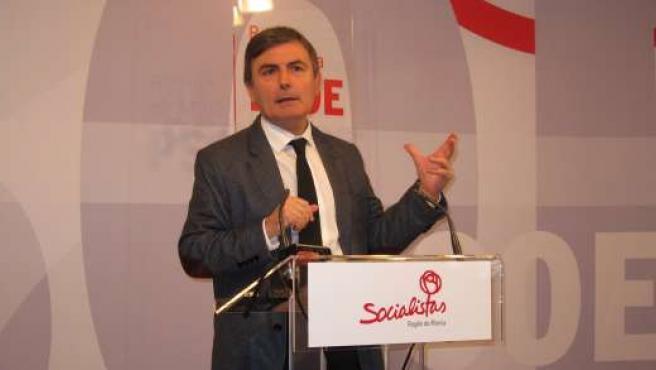 El diputado del PSRM en el Congreso de los Diputados, Pedro Saura