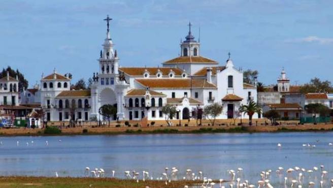 Ermita del Rocío.